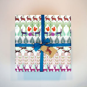 Gift Wrapping Paper Allegretto