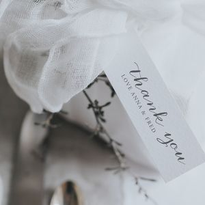 Anna Gift Tag - wedding favours