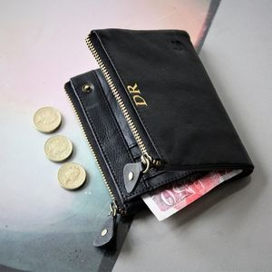 Personalised Classic Luxury Leather Wallet - wallets & money clips