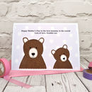 Personalise the card for a special Mum, Mummy, Nan, Grandma etc from the kids or grandkids