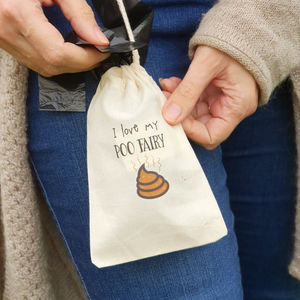 Poo Fairy Drawstring Bag