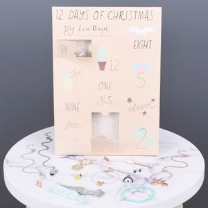 12 Days Of Christmas Tropical Advent Calendar
