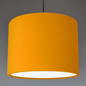 100% Wool Felt Lampshade 32 Colours - lamp bases & shades