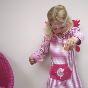Ballerina Towelling Hooded Top - children's towels