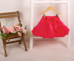 Pettiskirt Tutu In Hot Pink - fancy dress