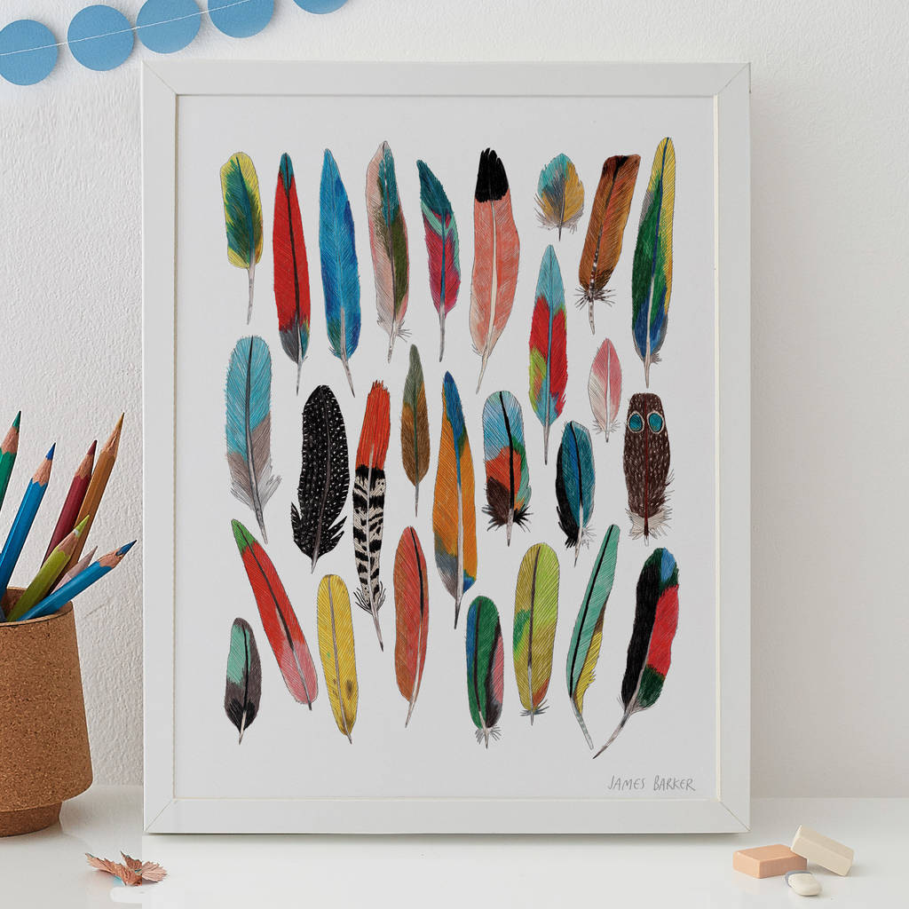Limited Edition Feathers Print