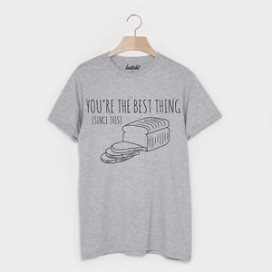 Best Thing Since Sliced Bread Valentine's Day T Shirt - Mens T-shirts & vests