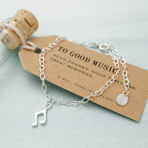 Personalised Music Lover Bracelet