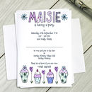 Personalised Childrens Cupcake Party Invitations