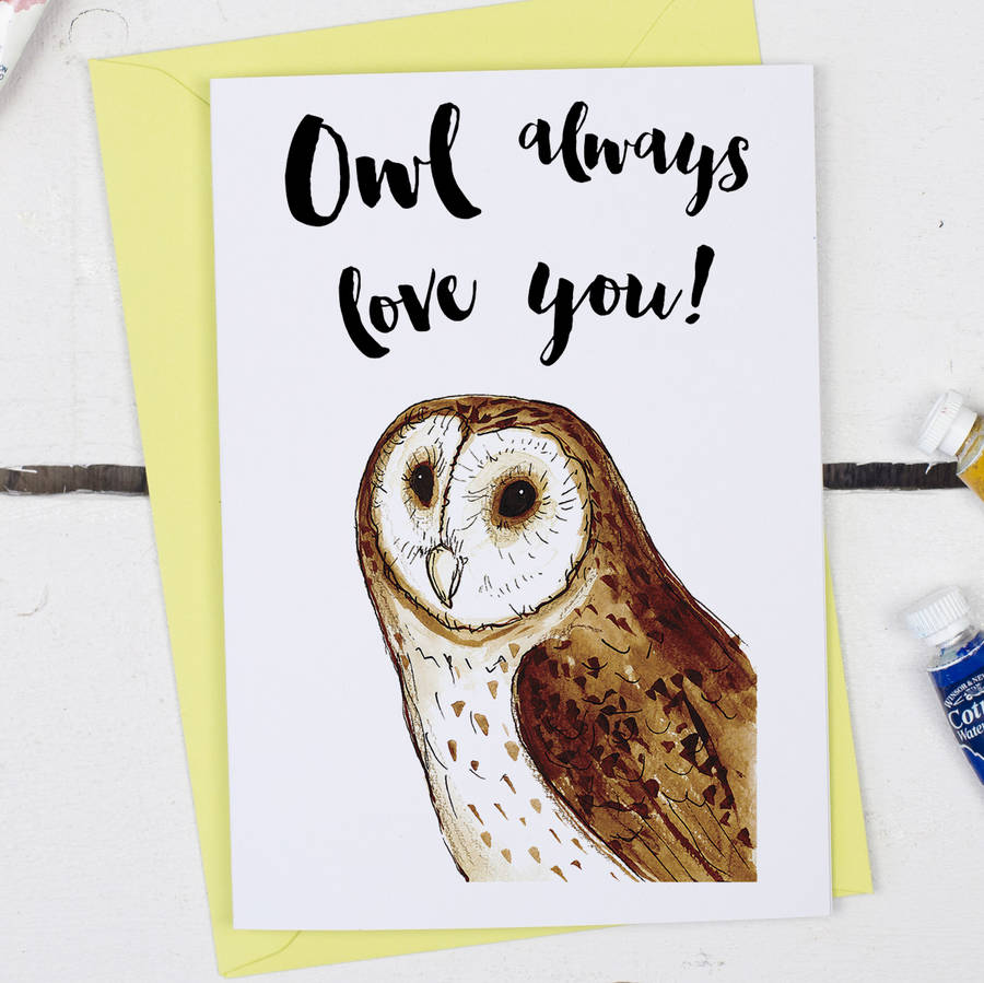 Owl Always Love You, Anniversary Card
