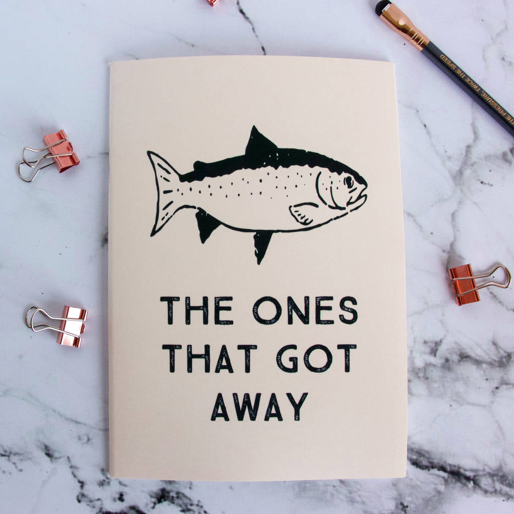Personalised Fishing Notebook