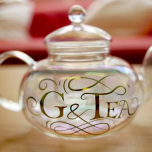 G And Tea Glass Teapot And Tea Cups Gift Set - teapots