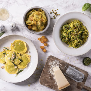 Vegetarian Fresh Pasta For Two: Ten Week Subscription - gifts for her