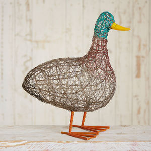 Fair Trade Patka The Fat Duck - sculptures & ornaments