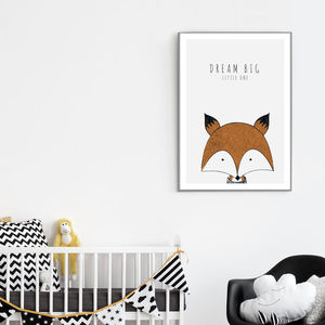 Fox 'Dream Big Little One' Baby Poster - what's new