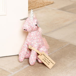 Novelty Fairy Tale Unicorn Door Stop