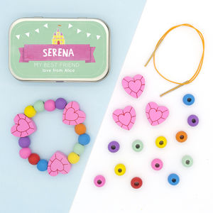 Personalised Princess Bracelet Gift Kit
