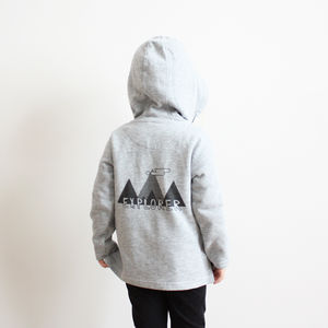 Unisex 'Explorer' Mountain Zip Hoody