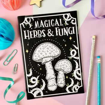 Magical Herbs And Fungi Notebook
