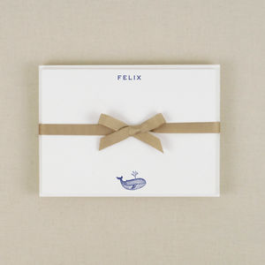 Whale Correspondence Cards - notelets & writing paper