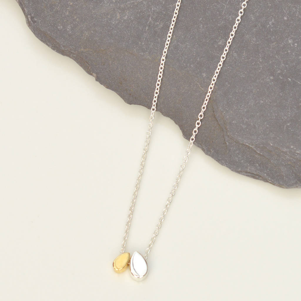gold droplet collection noonday jewelry large necklace shop accessories