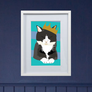 Personalised Cat Illustration