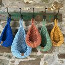 Crochet Hanging Basket Kit