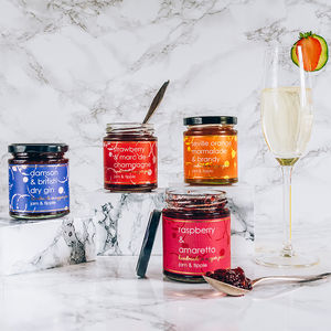 Gift Set Of Alcoholic Jams - most unusual corporate gifts