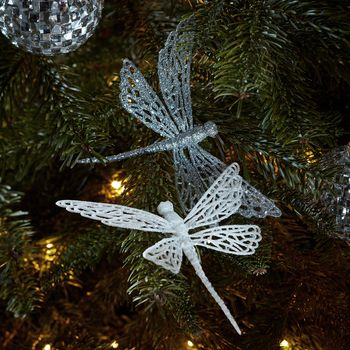 Clip Dragonfly Christmas Decorations