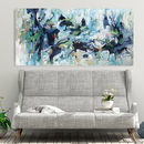 Original Abstract Canvas Painting Large Wall Art Decor