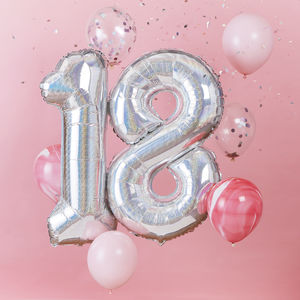 18th Birthday Celebration Balloon Bundle