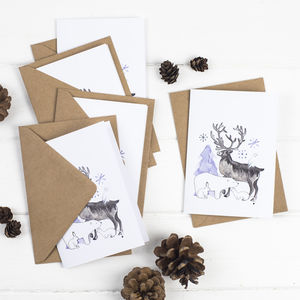 Arctic Animals Christmas Card Pack