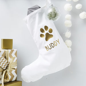 Personalised Pet Christmas Stocking - christmas sale