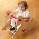 Wooden Rocking Horse For Babies