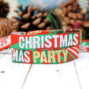 Christmas Party Wristbands Bracelets Favours