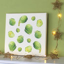 Brussels Sprouts Canvas Print