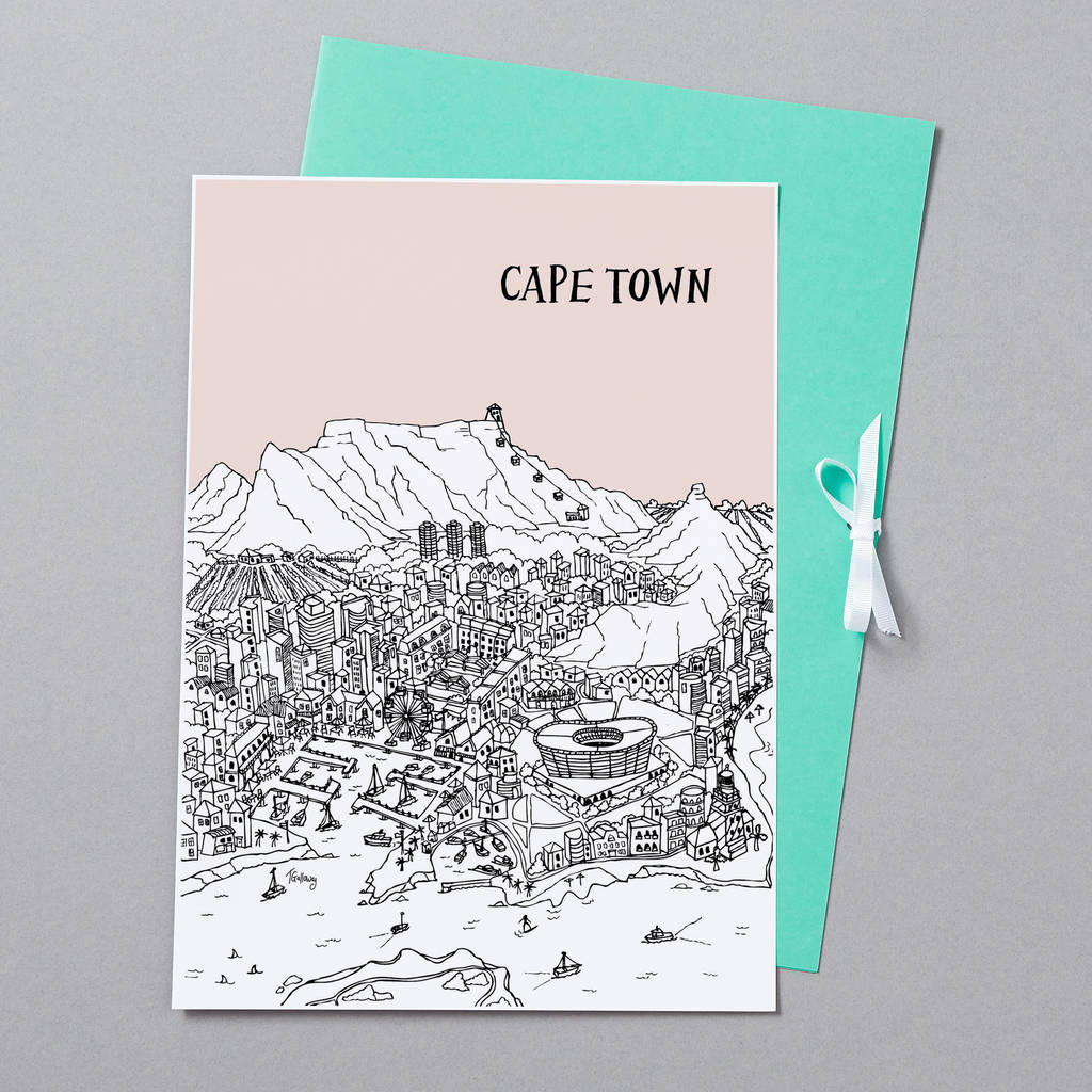 Cape Town Presentation Folder