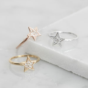 Star Ring For Hope - christmas jewellery
