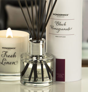 Wonderwick™ Blanc Luxury Reed Diffuser - candles & home fragrance