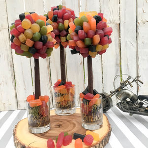 Personalised Wine Gum Sweet Tree - food & drink sale