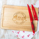 'I Bloody Love Steak' Meat Chopping Board