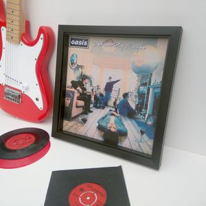 Ready Framed Lp Album Cover