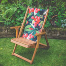 Cherry design balcony deckchair