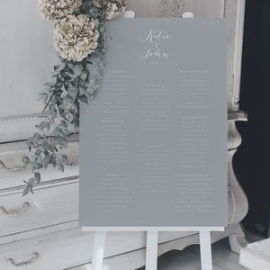 Timeless Table Plan