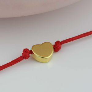 Gold Plated Heart Wish Bracelet - bracelets & bangles