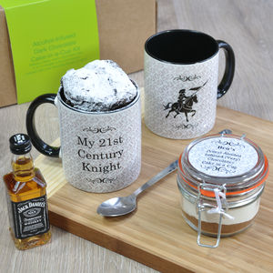 My Knight In Shining Armour Booze Infused Mug Cake Kit - food & drink