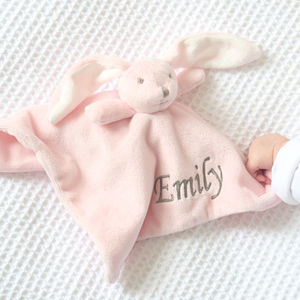 Super Soft Bunny Comforter Pink - baby care