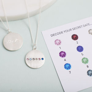 Secret Date Necklace - jewellery