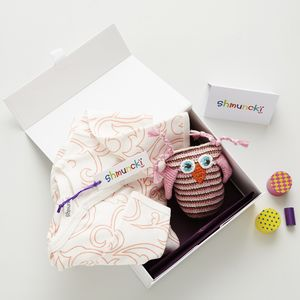 Swirl New Baby Girl Gift - gift sets