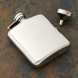 Cushion Hip Flask Free Personalisation And Free Funnel - hip flasks